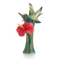 Franz - Hummingbird Porcelain Vase