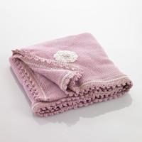 Pebbles - Pink Baby Blanket