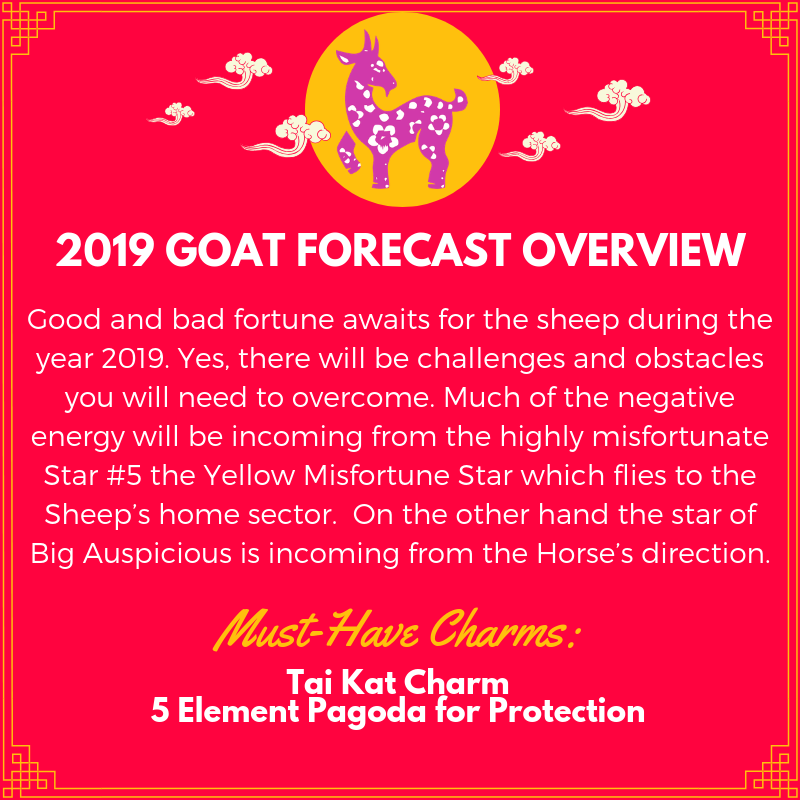 Year of the sheep 2019