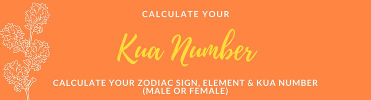 Feng Shui Kua Number Chart, Gua Number Calculator, Feng ...
