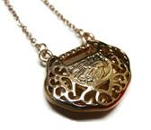 feng shui lock coin pendant