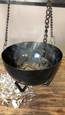 hanging burner censer with chain