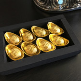 8 Gold Ingots to activate  the wealth sector