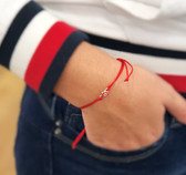 Red string bracelet for protection against envy &  backbiting