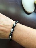 Healing Kuan Yin Obsidian Bracelet