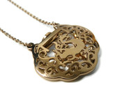 feng shui wealth lock necklace