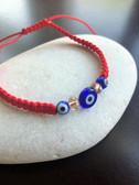 Evil Eye Red Cord Bracelet
