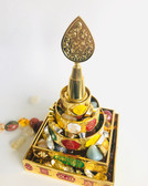 Mandala Offering with Gemstones & Ingots