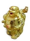 Buddha waving a fan to banish troubles