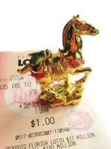 gambling luck fly horse