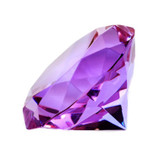 Diamond Cut Crystal to Enhance Wealth and Finance