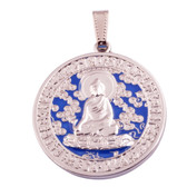 Health and Anti-Illness Amulet with Medicine Buddha.