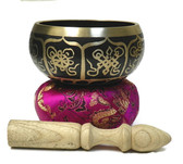 Extraordinarie Sound Tibetan Singing Bowl for Clearing