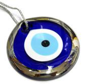Big Silver Eye. Protector for your main entrance door