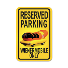 """Reserved Parking"" Sign"