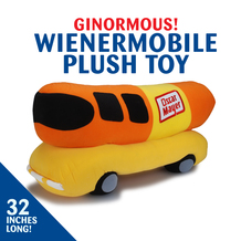 Wienermobile Plush Toy