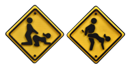 Assume the Position Road Sign Tennis Dampener 10 Pack