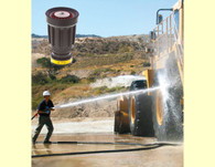 Add the ST 2510 tip to your shutoff  for a great valued industrial nozzle. Photo courtesy of Riveer Engineered Services
