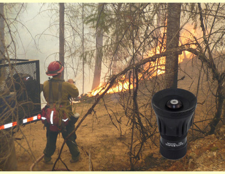 Photo courtesy of the USDA-15 gpm constant flow forestry nozzle- a workhorse...just like you. Proudly Made in the USA!