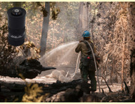 "U.S. Forest Service photo -our 15 gpm 1"" forestry nozzle get's the job done...even when no one is looking."