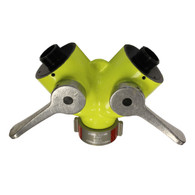 HIGH VISIBILITY WYE VALVE-NEVER TRIP OVER ONE AT NIGHT AGAIN!