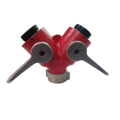 """Made in the USA, our 1 1/2"""" wye valve is  a mule-it never stops working!"""