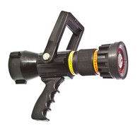 "125 - 250 GPM 2 1/2"" automatic nozzle with pistol grip"