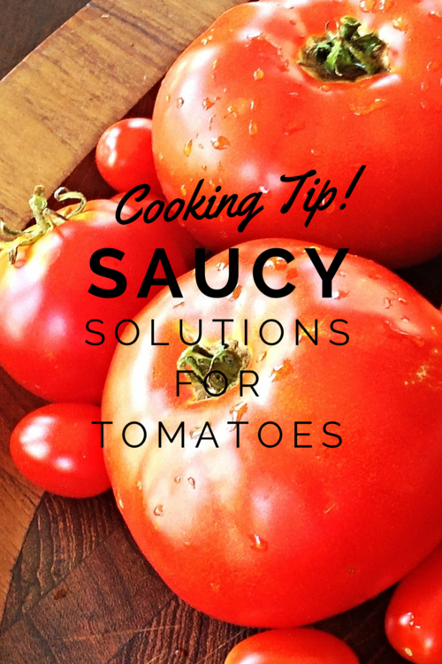 What do you do with your summer's bounty of tomatoes?