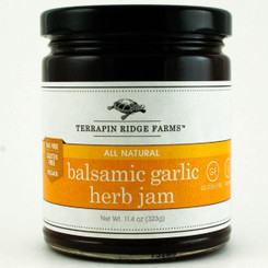 Balsamic, Garlic & Herb Jam