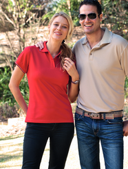 Stencil Mens & Ladies Lightweight Cool Dry Polo