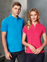 Neon Mens Slim Fit Polo