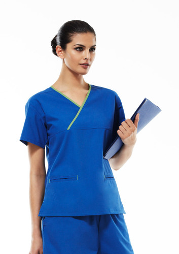 Scrubs Ladies Crossover Top
