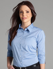 JB's Wear Ladies Fine Chambray Shirt