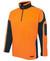 Arm Panel Hi Vis Orange/Navy Polar Fleece