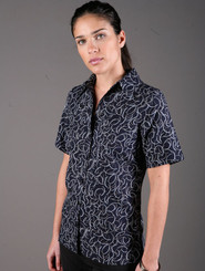 LSJ Freedom Breeze Easy Fit Navy Shirt