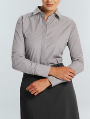 Gloweave Womens L/S Bold Stripe Shirt