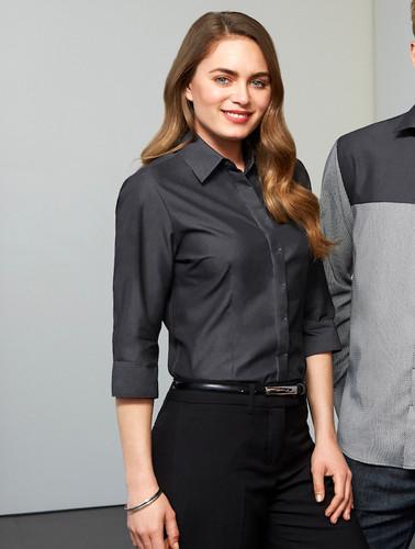 Ladies Biz Collection Hemingway 3/4 Sleeve Shirt