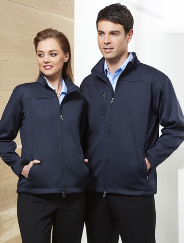 Biz Tech Soft Shell Mens Jacket