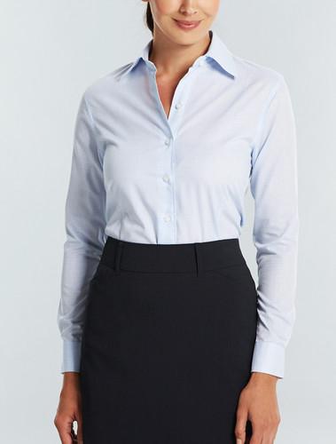 Gloweave Ladies Yarndyed Check L/S Shirt