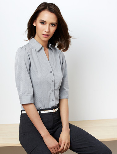 Biz Collection Ladies Trend 3/4 Sleeve Shirt