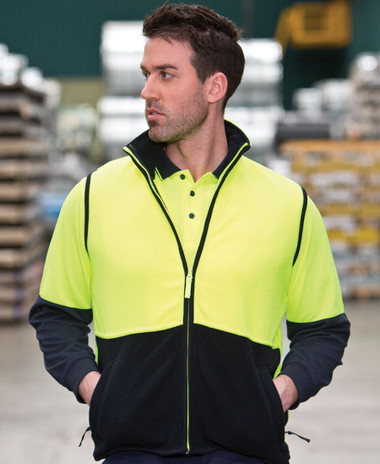 Hi Vis Polar Fleece Vest