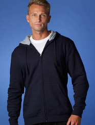 Aussie Pacific Kozi Mens Zippered Hoodie