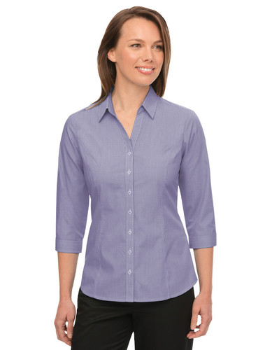 Ladies Pippa Check Shirt - Grape