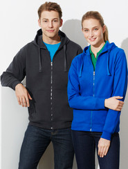 Crew Mens & Ladies Full Zip Hoodie