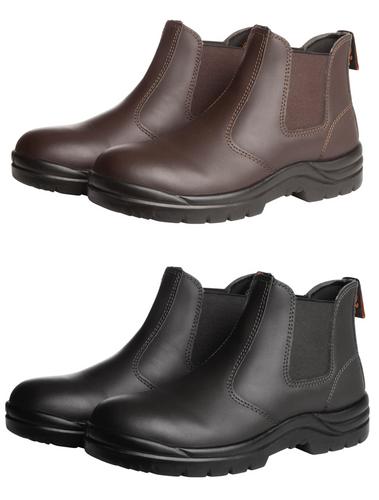 Soft Toe Elastic Sided Boot