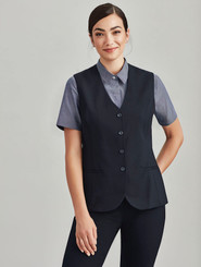 Wool Blend Longline Vest