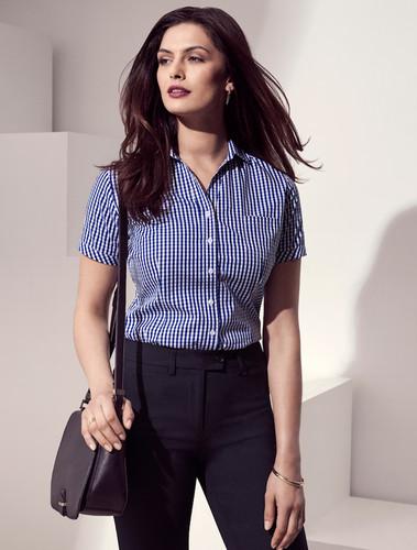 Springfield Ladies Sort Sleeved Sleeve Shirt