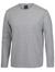 Grey Marle Long Sleeve Non Cuff T-Shirt