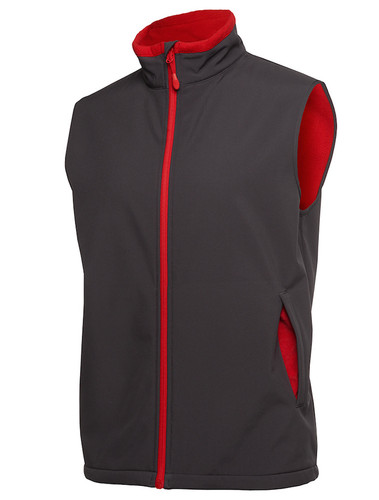 Mens Charcoal/Red