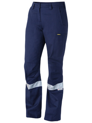 3M Taped Industrial Engineered Womens Drill Pant